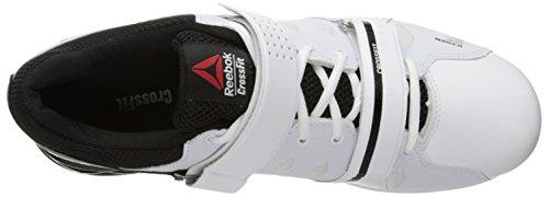 Reebok Mens Crossfit Lifter Plus 2.0 Chaussure De Course Blanc / Noir / Porcelaine