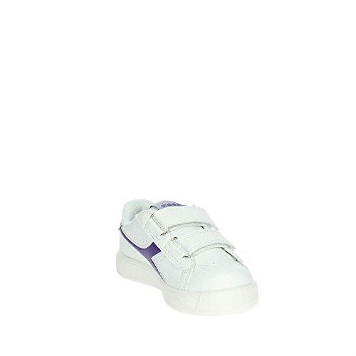 Sneakers viola 34 101 Bambina Bassa C7318 Bianco 173324 Diadora 1qgwvxtCw
