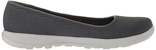 Schuhe Charcoal Go Anthrazit Skechers Dreamer Lite Walk Slipper 15400 fUxnw0g