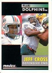 1991 Pinnacle #138 Jeff Cross Near Mint/Mint