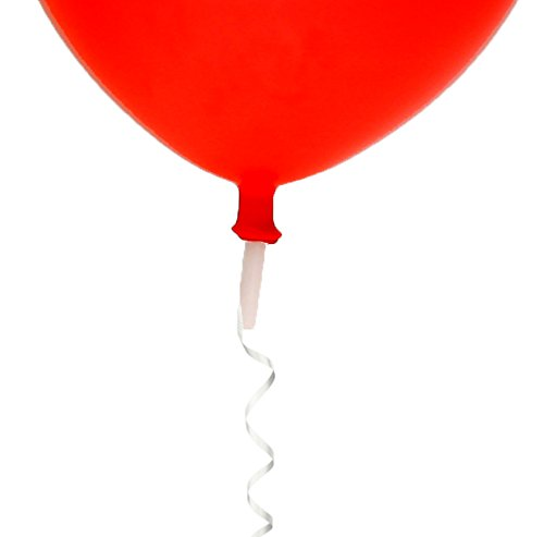 "Big Barrel E-Z Safety Seal Helium Balloon Valves - Quickly Seals 9"", 10"", 11"" and 12"" Latex Balloons Fast - 250 pc"