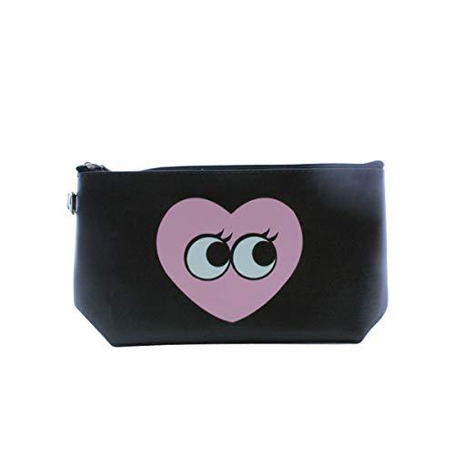 Accessoryo Noir Pochette Unique Femme Pour Taille rose Noir qvTg7q