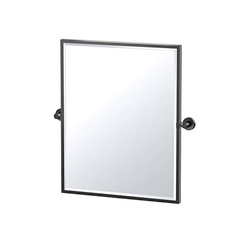 Gatco Glam Framed Rectangle Mirror, 25-inch, Matte -