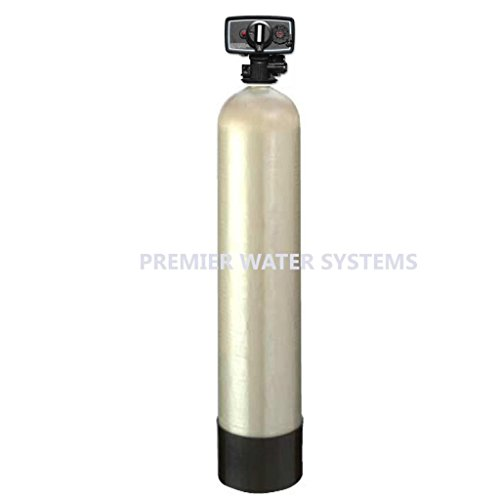 Carbon tank Filter CB1.5-56 Carbon Tank System Whole House 1.5 cu. ft. Fleck 5600 Filter Valve black