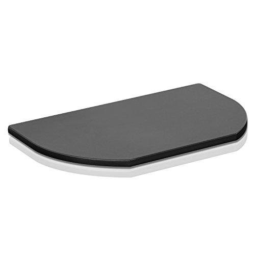 Furinno FSP299BK Indo Simple Swivel TV Board, No No Shelf