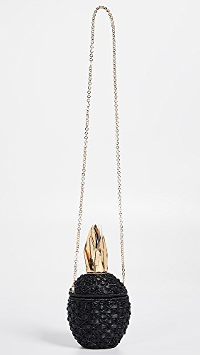 Women's Black Clutch Wicker Pineapple Serpui Marie CwTqxB