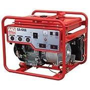 Multiquip GA6HB Portable Generator with Honda Motor, 9.4 HP, 120/240 VOLT, 6000 WATT Output