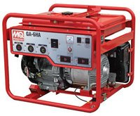 MIKASA GA6HB Portable Generator with Honda Motor, 9.4 HP,...