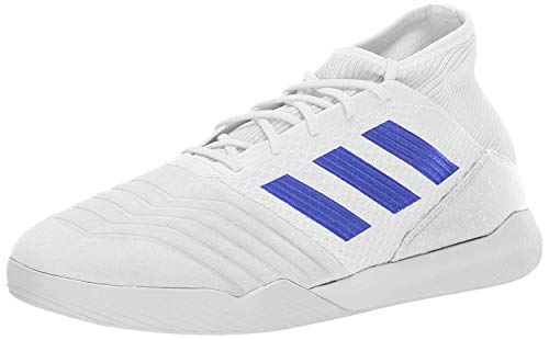 adidas Men's Predator 19.3 TF Soccer Shoe, White/Bold Blue/Black, 10 M US