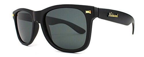 Knockaround Fort Knocks Non-Polarized Sunglasses, Matte Black Frame/Black Lens