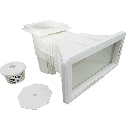 Skimmer Boca Larga Branco Fibra/Vinil/Alvenaria Sodramar Para Limpeza De Piscinas