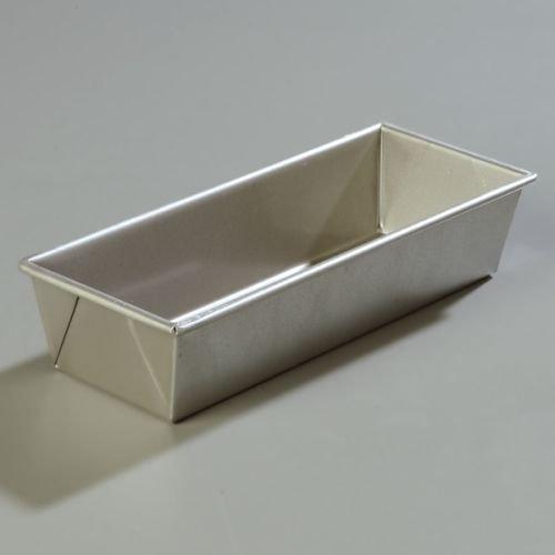 Carlisle Steeluminum Loaf Bread Pan, 1 1/2 Pound - 1 each. (Pan Carlisle Loaf)