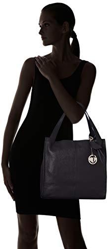 Y Mujer Shoppers Hombro blu Azul Chicca Bolsos Borse De Cbc3311tar 0EgYqtw4
