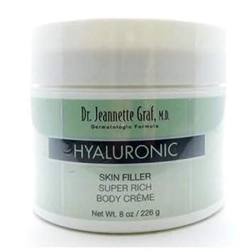 Dr Jeannette Graf Hyaluronic Skin Filler Super Rich BODY CREME – 8 Ozs