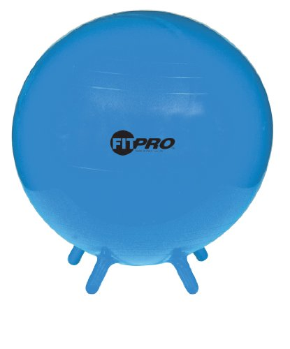 Champion Sports FitPro Ball with Stability Legs, (Wholesale Bouncing Balls)