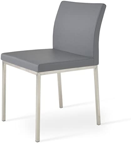 Soho Concept Aria Chrome Dining Chair
