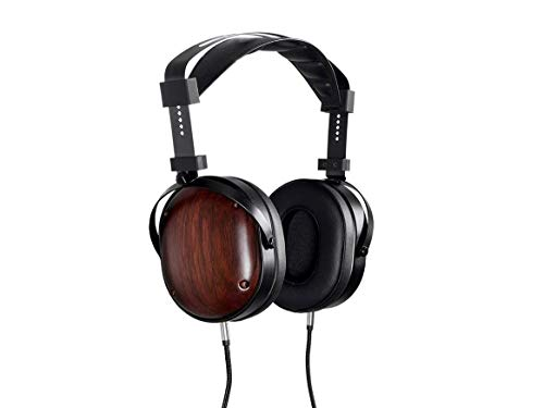 (Monolith M565C Over Ear Planar Magnetic Headphones - Black/Wood with 106mm Driver, Closed Back Design, Comfort Ear Pads for Studio/Professional)
