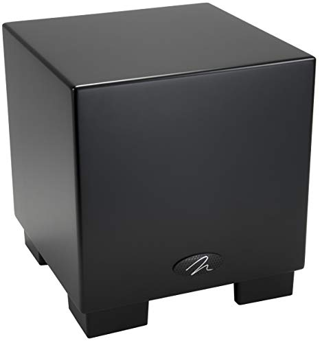 MartinLogan Dynamo 700W 10in Subwoofer with Wireless (Black) (Renewed)