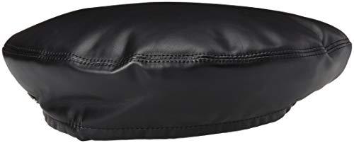 Kangol Men's Faux Leather Beret HAT, Black, 1SFM