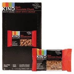 KIND Healthy Grains Bar, Dark Chocolate Chunk, 1.2 oz, 12/Box by KIND