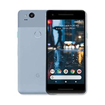 Google Pixel 2 64GB, Google Unlocked Smartphone, Kinds Blue (Renewed)