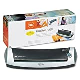 GBC HeatSeal H100 Photo and Badge Pouch Laminator, 4.5 Inch Width Capacity, 3 mm to 5 mm Pouch Thickness, Gray (1701280)
