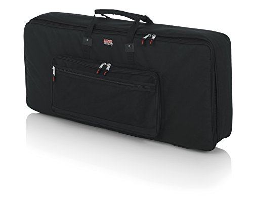 Gator Cases Padded Keyboard Gig Bag; Fits 61 Note Keyboards (GKB-61) by Gator