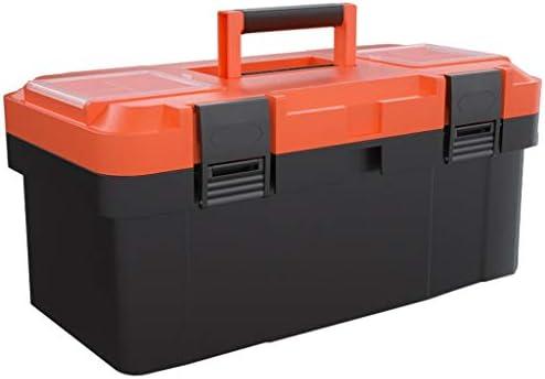 ツールオーガナイザー 工具または部品保管用ハードウェアツールボックス2層工具保管ボックス(サイズ45 cm×23 cm×20 cm) ポータブルツールボックス