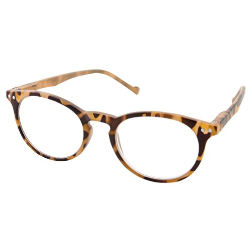 High Magnification Power Strong Reading Glasses Readers +4.00 to +6.00 (Crazy Tortoise, +4.50) - Power Reading Glasses