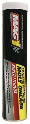 WARREN DISTRIBUTION MG630014 14OZ Lith Moly Grease (Pack of 10) by Warren Distribution