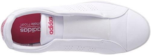 Baskets footwear Green 000 Ftwbla Femme Blanc bold ftwbla Rosrea Adidas White White Adapt Bianco footwear Advantage Eww1H