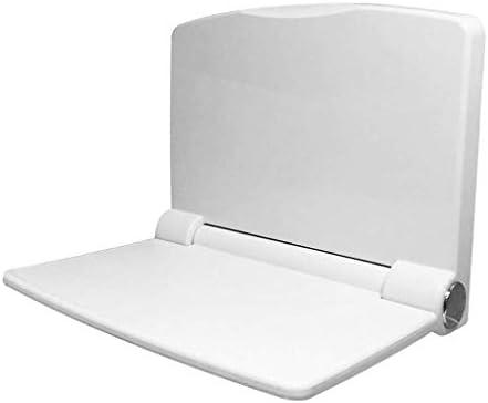 Duschklappsitz Komfortabler Duschklappsitz mit Flow Assist | -Weiß zur Wandmontage Faltbarer Badewannensitz
