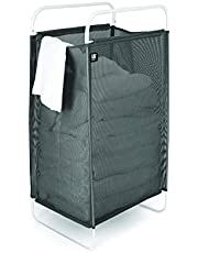 Umbra Cinch Laundry Hamper with Removable Mesh Laundry Bag for Easy Cleaning and a Lightweight Flexible Frame for Easy Carrying