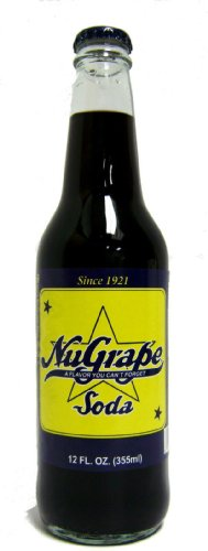 (Retro) Nugrape Made with Real Cane Sugar 12 Pack by Orca Beverage