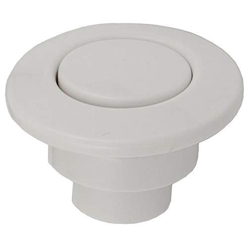 - Allied Innovations Len Gordon Spa Air Button Trim Kit #15 Classic Touch White 951601