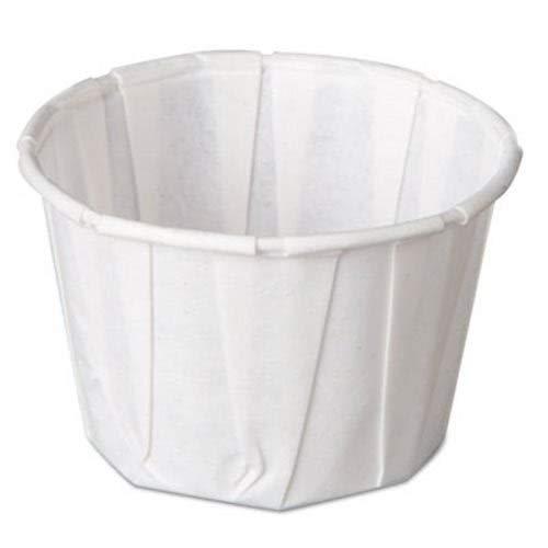 Harvest Souffle - Genpak F200 2 oz. Harvest Paper Souffle / Portion Cup - 5000/Case