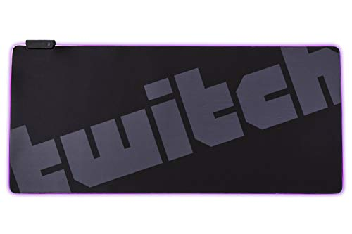 Twitch XXL RBG Illuminating Mousepad