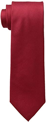 Silver And Red Suit - Calvin Klein Men's Silver Spun Solid