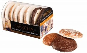 Häscha Lebkuchen Lebkuchen Rounds Assorted, 7 Ounce