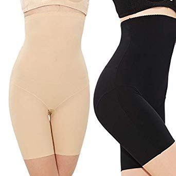 d1c1196e664d7 2 Pcs Lot Women Ice Silk Plus Size High Waist Shaping Panties Body Shaper  Control