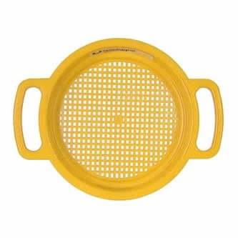 Spielstabil Large Sand Sieve - Yellow (Made in ()