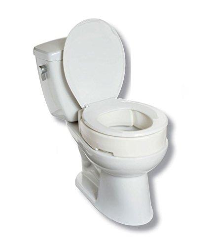 - Maddak SP Ableware Hinged Elevated Toilet Seat, Standard