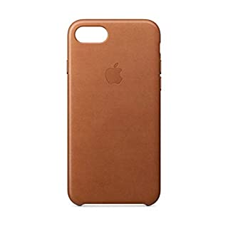 Apple Leather Case for iPhone 7 - Saddle Brown (Renewed)