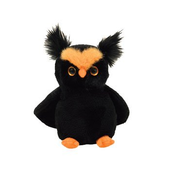 77c3903798e TY Beanie Baby - HOOTSEY the Owl (Internet Exclusive) (B001HBFMZE ...