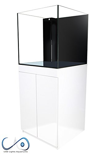 CAD Lights 60 Gallon True Cube Versa Series Aquarium(Total 78 Gallons)-White Stand by Cad Lights
