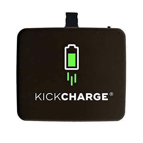 KICKCHARGE Compatible with iPhone - Pre-Charged, Emergency, Single-Use Mobile Phone Charger, External Battery Pack for Charging On The Go - Great for Everyday Use, Travel, Sporting Events & Camping