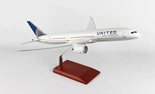 Executive Series Models United 787-9 Vehicle (1/100 Scale) by Executive Series Models