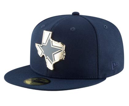 b3a3e8c79a789 Dallas Cowboys New Era Gold Stated 59Fifty Cap