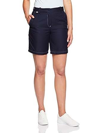 Lacoste Women's Bermuda Short, Navy Blue,34F (Standard)