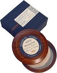 Spanish Fig & Nutmeg by Bath House Shaving Soap 3.3 oz by Bath House ()